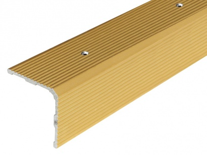Schodová lišta šroubovací Arbiton 30 x 30 x 2700 Zlatá PS3