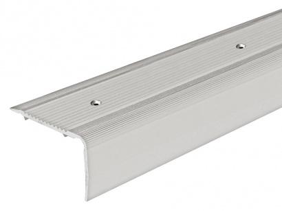 Schodová lišta šroubovací Arbiton 40 x 25 Stříbrná PS4