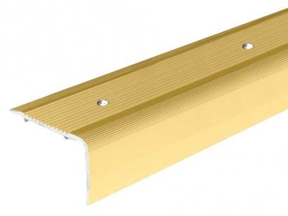 Schodová lišta šroubovací Arbiton 40 x 25 Zlatá PS4