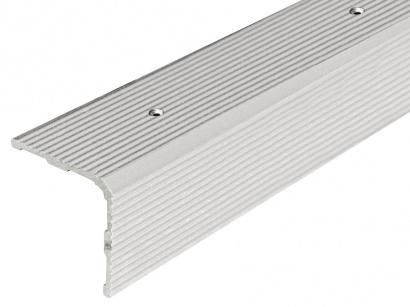 Schodová lišta šroubovací Arbiton 30 x 30 Stříbrná PS3