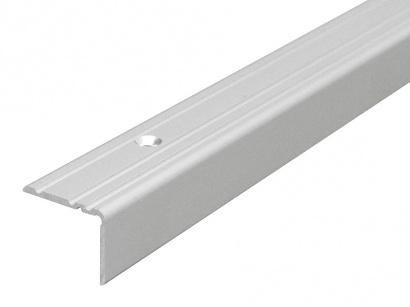 Schodová lišta šroubovací Arbiton 25 x 20 x 1800 Stříbrná PS2