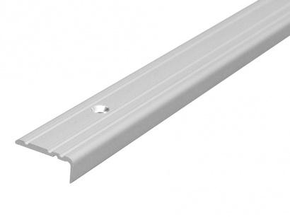 Schodová lišta šroubovací Arbiton 25 x 10 Stříbrná PS1