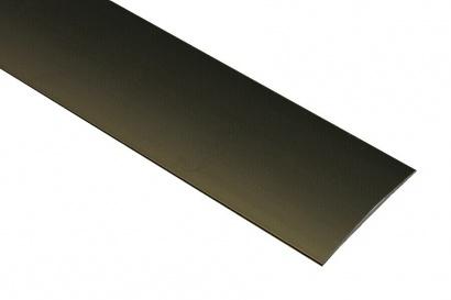 Přechodová lišta nevrtaná oblá Bronz C4
