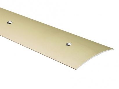 Přechodová lišta šroubovací oblá Küberit Sahara 80 x 2700 F9