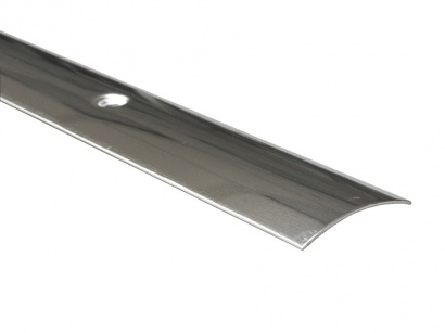 Přechodová lišta šroubovací oblá Prinz Nerez leštěná 30 x 1000