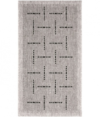 Kusový koberec Floorlux 20008 silver-black