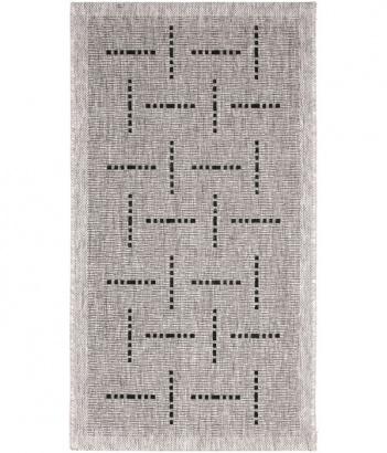 Outdoor koberec Floorlux 20008 silver-black