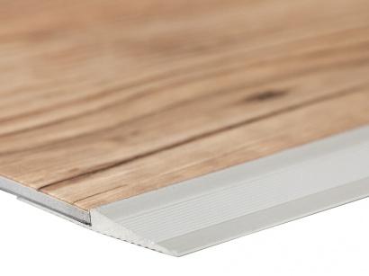 Ukončovací nájezdová lišta pro vinyl Stříbrná do 3 mm