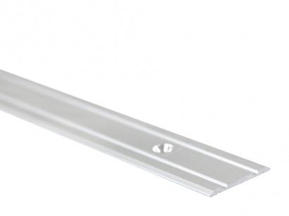 Přechodová lišta šroubovací plochá PR1 Stříbrná