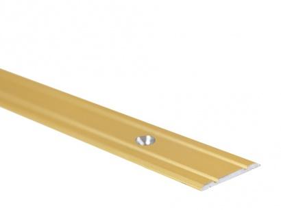 Přechodová lišta šroubovací plochá PR1 Zlatá