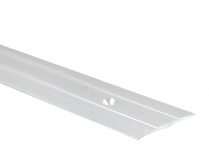 Přechodová lišta šroubovací plochá Arbiton PR6 Stříbrná 38 x 1800