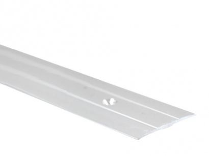 Přechodová lišta šroubovací plochá PR6 Stříbrná