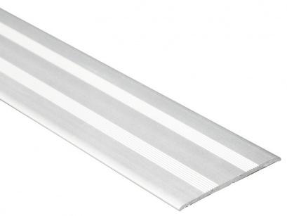 Přechodová lišta samolepící plochá Profilteam Stříbrná E01