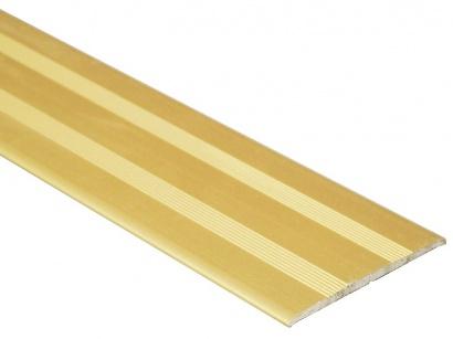 Přechodová lišta samolepící plochá Profilteam Zlatá E00