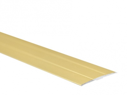 Přechodová lišta samolepící plochá Arbiton PR6K 38 x 1800 Zlatá