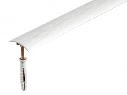 Přechodová lišta narážecí Arbiton SM1 Stříbrná kartáčovaná