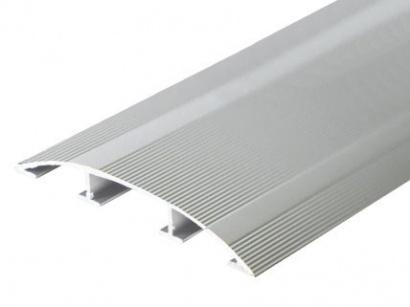 Přechodová lišta pro vedení kabelů Stříbrná E01