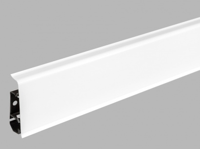 AKCE podlahová lišta pro vedení kabelů LM70 Arbiton INDO 01 Bílá lesklá